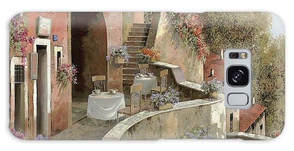 Restaurants Galaxy Case - Un Caffe Al Fresco Sulla Salita by Guido Borelli