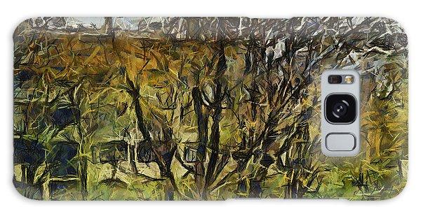 Un Cheteau Dans Le Paradis - One Of Two  Galaxy Case by Sir Josef - Social Critic -  Maha Art