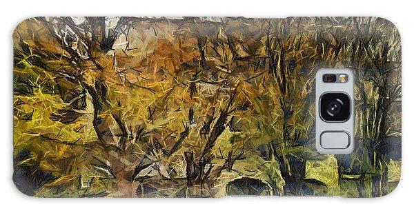 Un Cheteau Dans Le Paradis - Two Of Two  Galaxy Case by Sir Josef - Social Critic -  Maha Art
