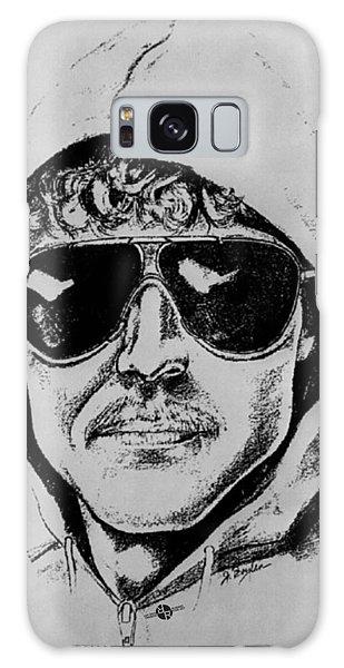 Unabomber Ted Kaczynski Police Sketch 1 Galaxy Case