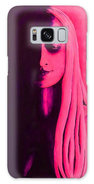 Unanswered In Pink And Purple Galaxy Case