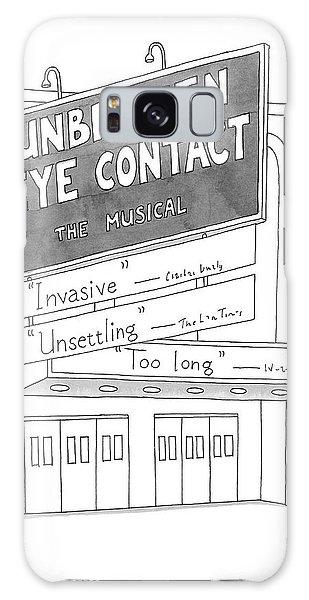Unbroken Eye Contact The Musical Galaxy S8 Case