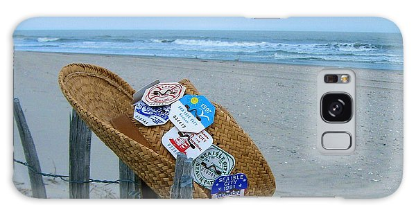 Uncle Carl's Beach Hat Galaxy Case