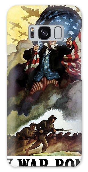 Americana Galaxy Case - Uncle Sam - Buy War Bonds by War Is Hell Store