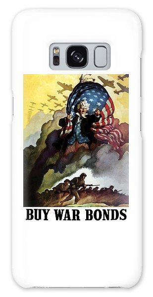 Landmarks Galaxy Case - Uncle Sam - Buy War Bonds by War Is Hell Store