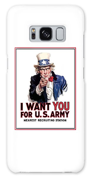 Political Galaxy Case - Uncle Sam -- I Want You by War Is Hell Store