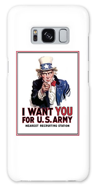 Landmarks Galaxy Case - Uncle Sam -- I Want You by War Is Hell Store