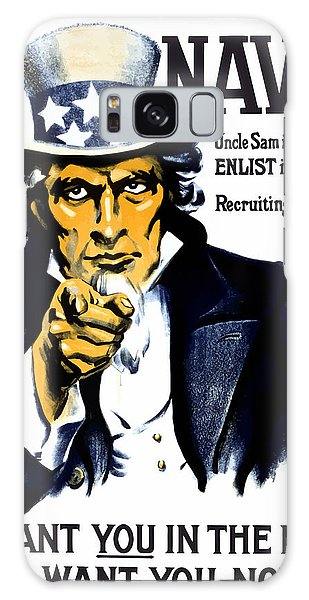 Americana Galaxy Case - Uncle Sam Wants You In The Navy by War Is Hell Store