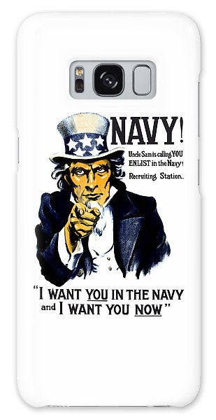 Political Galaxy Case - Uncle Sam Wants You In The Navy by War Is Hell Store