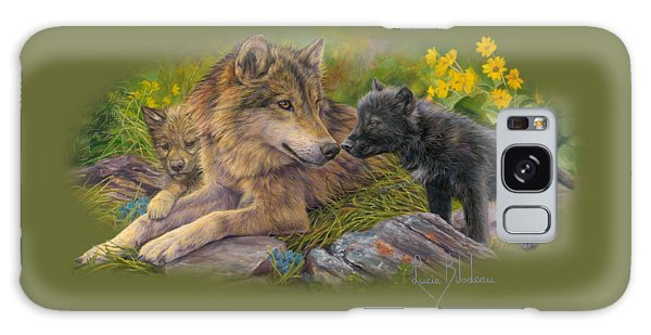 Wildlife Galaxy Case - Unconditional Love by Lucie Bilodeau