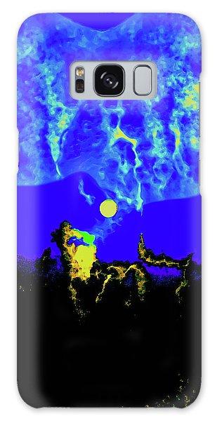 Under A Full Moon Galaxy Case