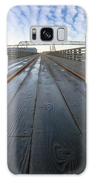 Under Astoria Megler Bridge On Riverwalk Galaxy Case