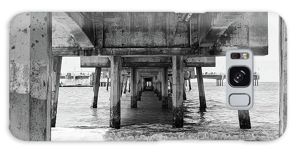 Under Belmont Veterans Memorial Pier Galaxy Case