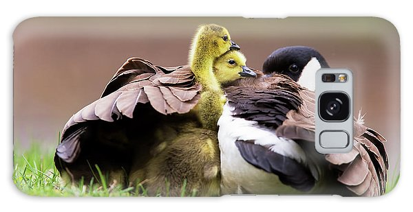 Gosling Galaxy Case - Under Mama's Wings by Mircea Costina Photography