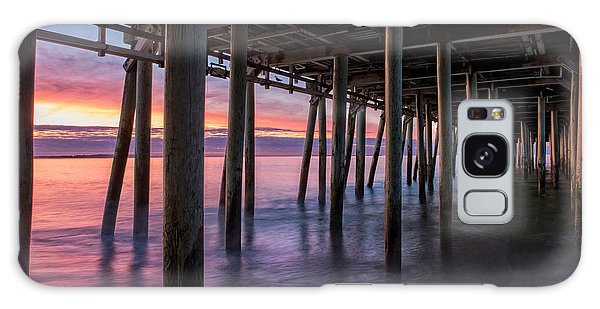 Galaxy Case featuring the photograph Under Old Orchard Pier by Expressive Landscapes Fine Art Photography by Thom