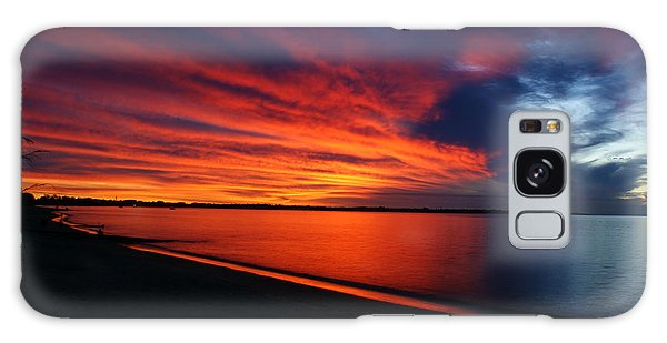 Under The Blood Red Sky Galaxy Case by Gary Crockett
