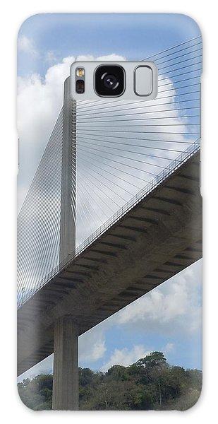 Under The Bridge Through Panama Galaxy Case