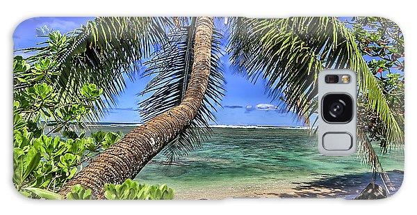 Under The Coconut Tree Galaxy Case