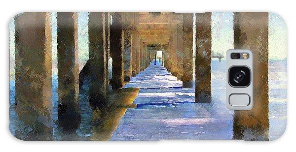 Under The Galvaston Pier Galaxy Case by Cedric Hampton
