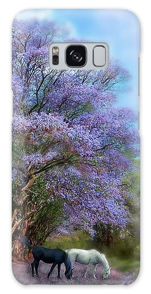 Under The Jacaranda Galaxy Case