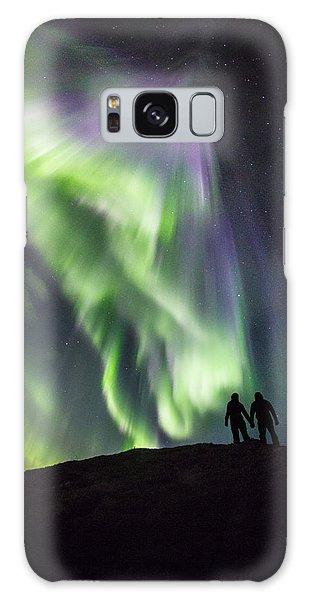 Under The Lights Galaxy Case by Alex Conu