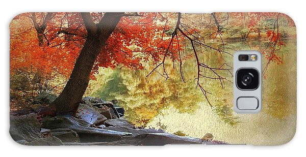 Galaxy Case featuring the photograph Under The Maple by Jessica Jenney