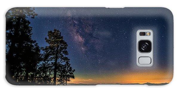 Galaxy Case featuring the photograph Under The Milky Way  by Saija Lehtonen