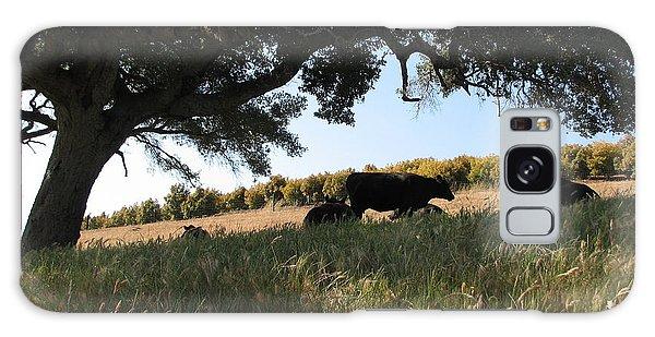Under The Oak Tree Galaxy Case by Jan Cipolla