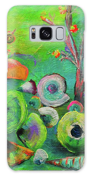 under the sea  - Orig painting for sale Galaxy Case