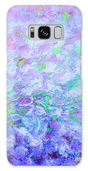 Sea Clouds Galaxy Case