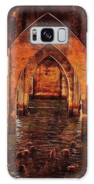 Under The Siuslaw River Bridge Galaxy Case by Thom Zehrfeld