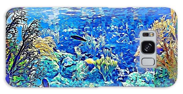 Under Water Galaxy Case