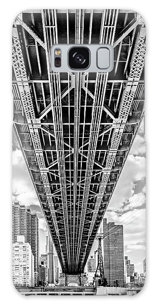 Galaxy Case featuring the photograph Underneath The Queensboro Bridge by Susan Candelario