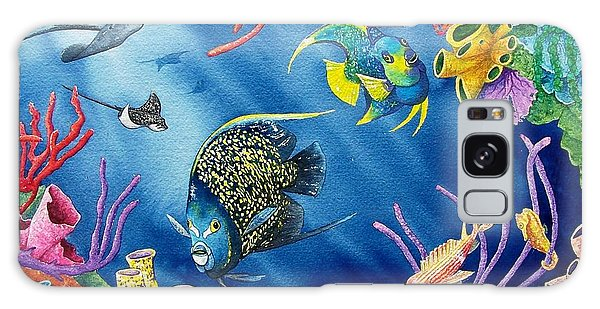 Undersea Garden Galaxy Case by Gale Cochran-Smith