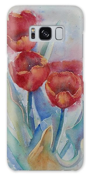 Undersea Tulips Galaxy Case