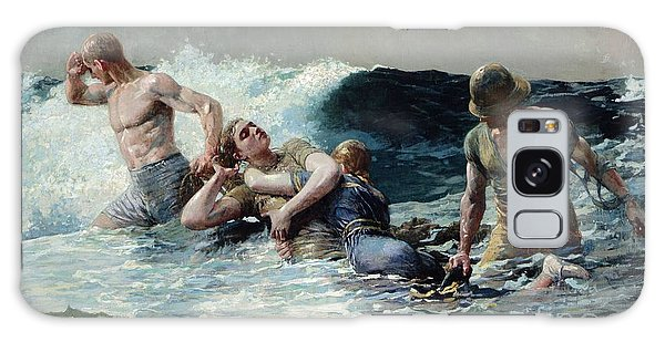Safe Galaxy Case - Undertow by Winslow Homer