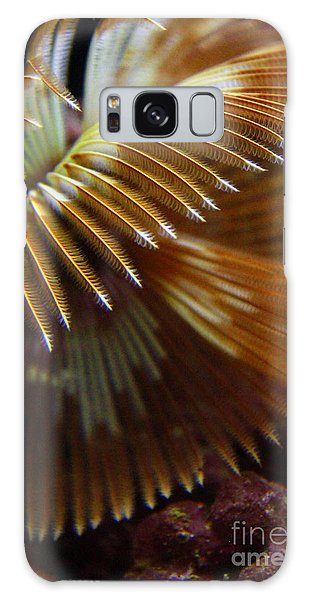 Underwater Feathers Galaxy Case