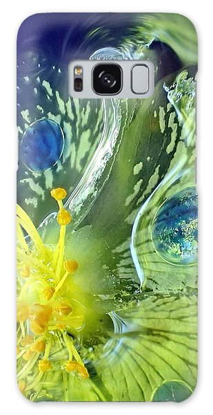 Underwater Flower Abstraction 1 Galaxy Case