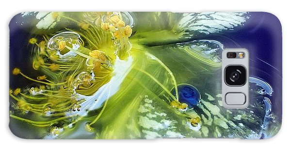 Underwater Flower Abstraction 2 Galaxy Case