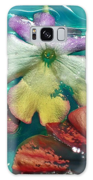 Underwater Flower Abstraction 5 Galaxy Case