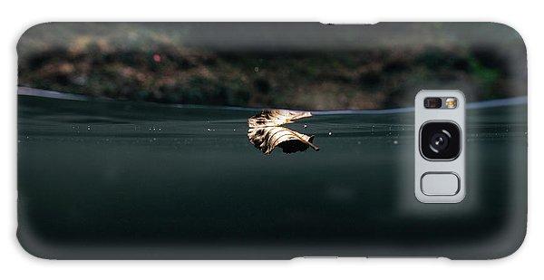Underwater Leaf Galaxy Case