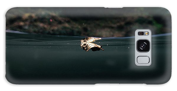 Underwater Leaf Galaxy Case
