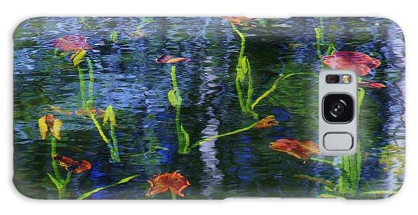 Underwater Lilies Galaxy Case