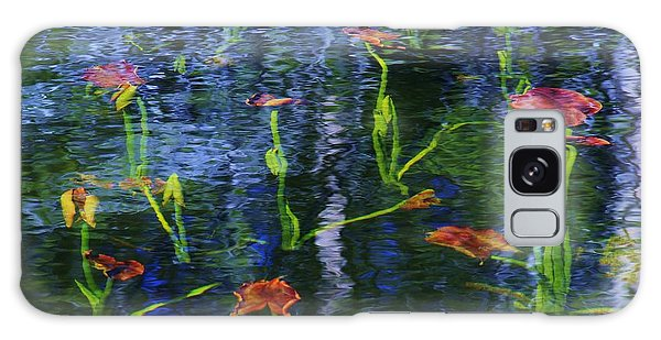Underwater Lilies Galaxy Case