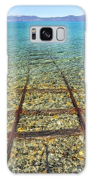 Underwater Railroad Galaxy Case