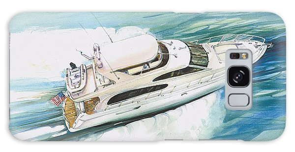 Motor Yacht Galaxy Case - Underway by P Anthony Visco