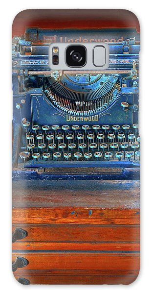 Underwood Typewriter Galaxy Case