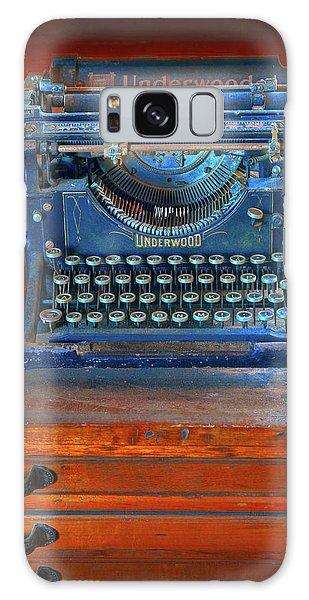 Underwood Typewriter Galaxy Case by Dave Mills
