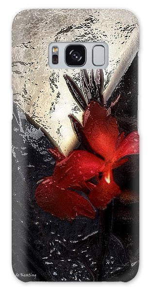 Galaxy Case featuring the photograph Une Belle Fleur by Gerlinde Keating - Galleria GK Keating Associates Inc