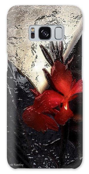 Une Belle Fleur Galaxy Case